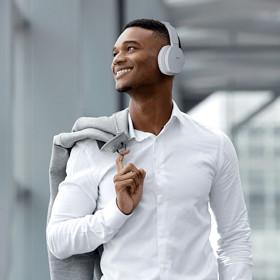 Cuffie Bluetooth On-Ear sovraurali bianche JVC HA-SBT5-W 86a68ead4be9